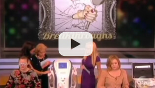 """DR. DORIS DAY TREATING ROSACEA ON THE """"VIEW"""" SHOW"""